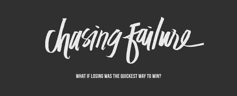 Daily Devotional: Chasing Failure