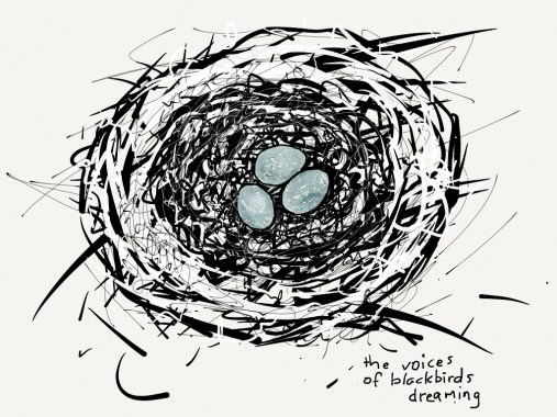 the voices of blackbirds