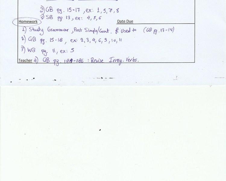 Homework : C Class, Agia Paraskevi 10/10/18