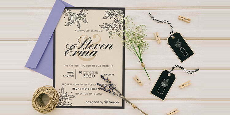 Tips Membuat Desain Undangan Pernikahan Supaya Mengesankan Belirus Com