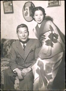Чюн Сегихара с женой