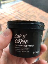 Lush Cup O'Coffee Face Mask | Katastrophique
