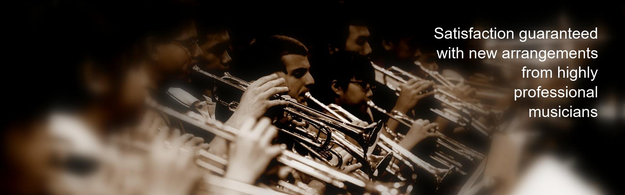 sepia trumpet slide
