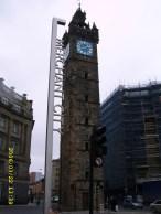 빅벤 닮은 Tolbooth Steeple (Glasgow Cross)