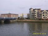 Queen's Bridge, Harland and Wolff shipyard - Titanic Quarter (River Lagan)