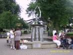 swan fountain (Bancroft Gardens)