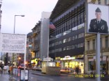 Checkpoint Charlie (looking the American sector)