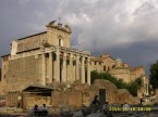 Tempio di Antonino e Faustina, Basilica dei Santi Cosma e Damiano (Foro Romano)