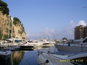 Port de Fontvieille from Quai Jean-Charles Rey