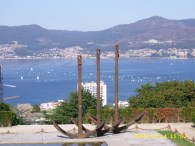 As Áncoras (Monumento aos Galeóns de Rande)