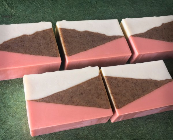 Afternoon organic soap