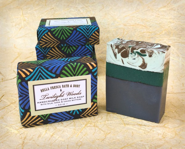 Twilight Woods Soap & Package