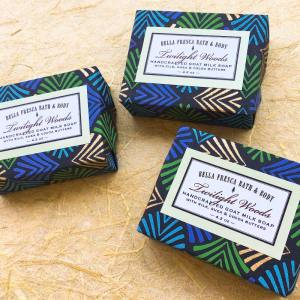Packaging for Twilight Woods Soap