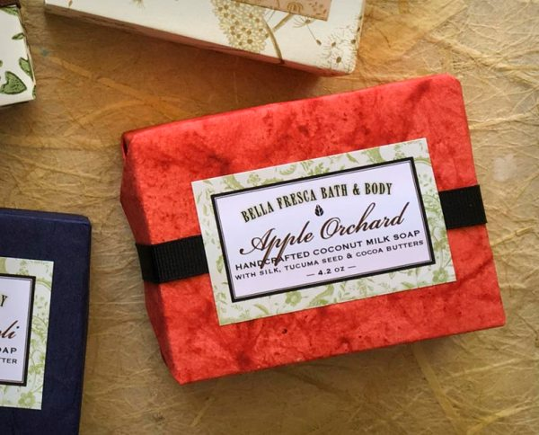 Apple Orchard Coconut Milk Soap Package