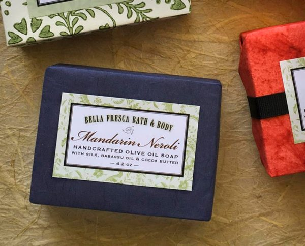 Mandarin Neroli Soap Package
