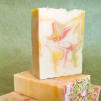 Pear and Honey Goat Milk Soap