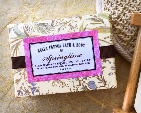 Springtime Soap Package