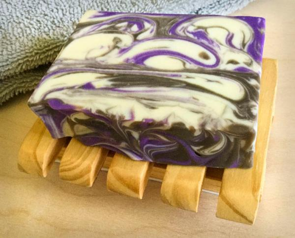 Slatted Soap Tray with soap