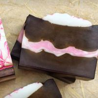 Blushing Hot Cocoa Soaps