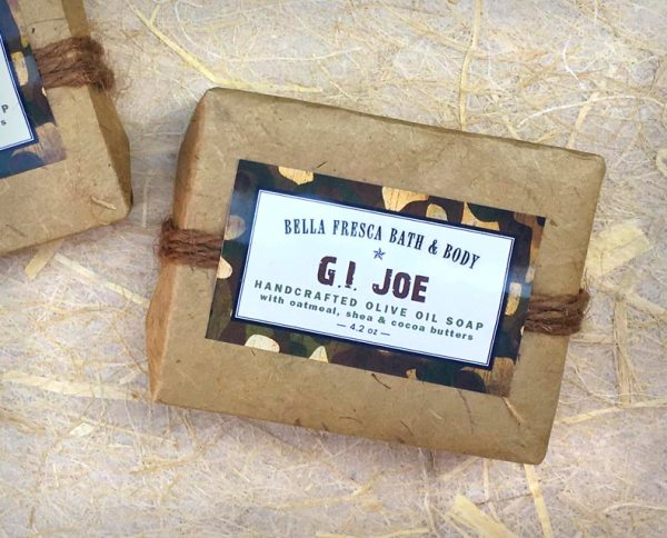 GI Joe Soap Package