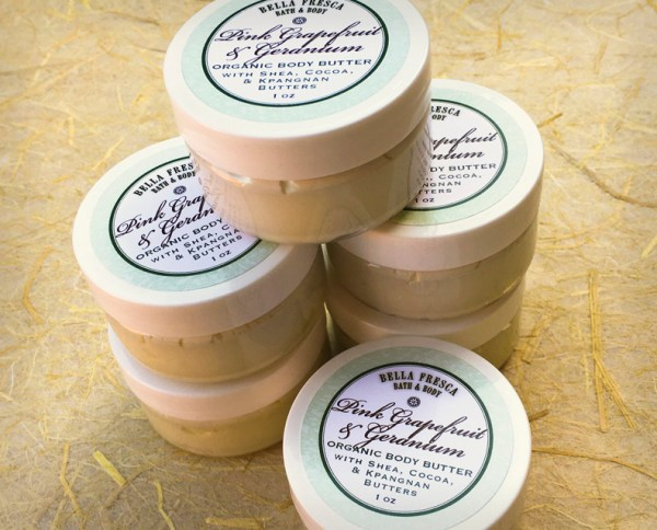 Pink Grapefruit & Geranium Organic Body Butter