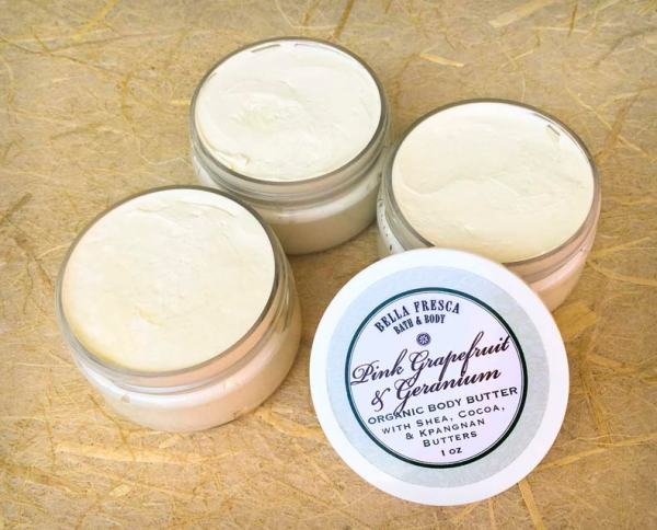 Pink Grapefruit & Geranium Body Butter