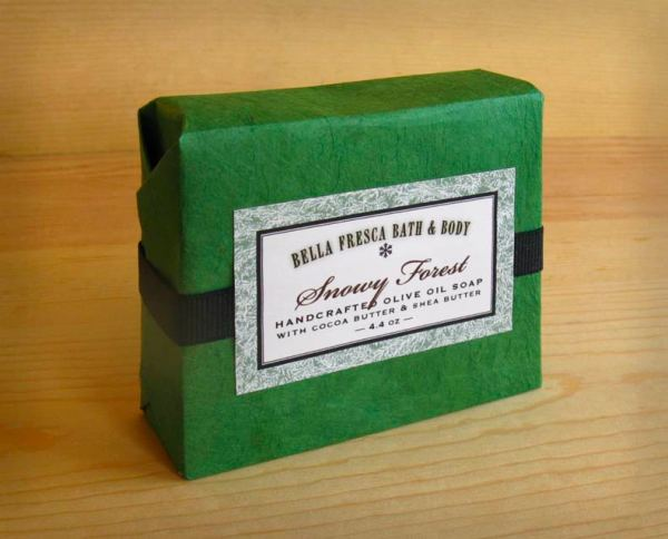 Snowy Forest Soap Package
