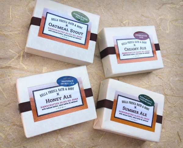 4 Beer Soap Packages