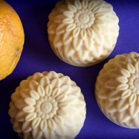 Round Sunflower Soaps