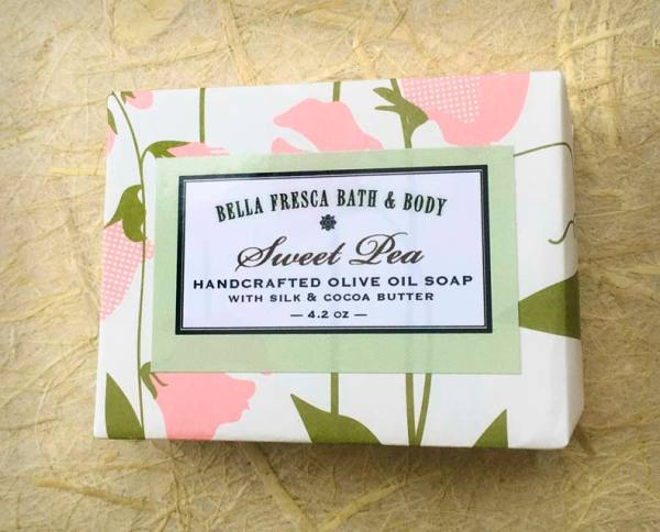 Sweet Pea Soap Package