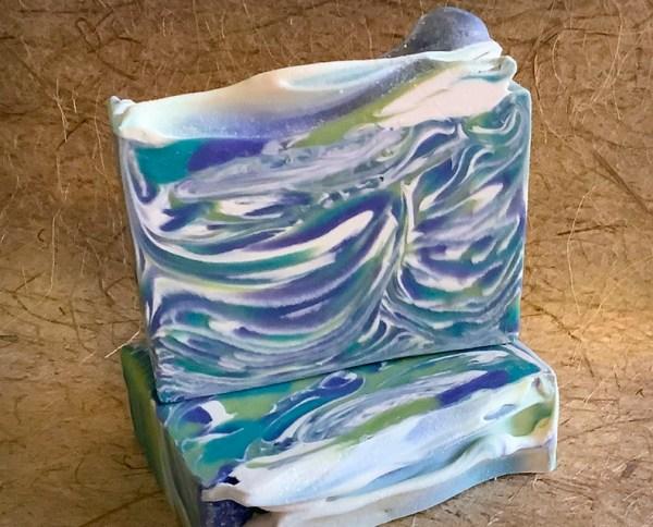 Art Deco soap