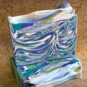 Art Deco soap