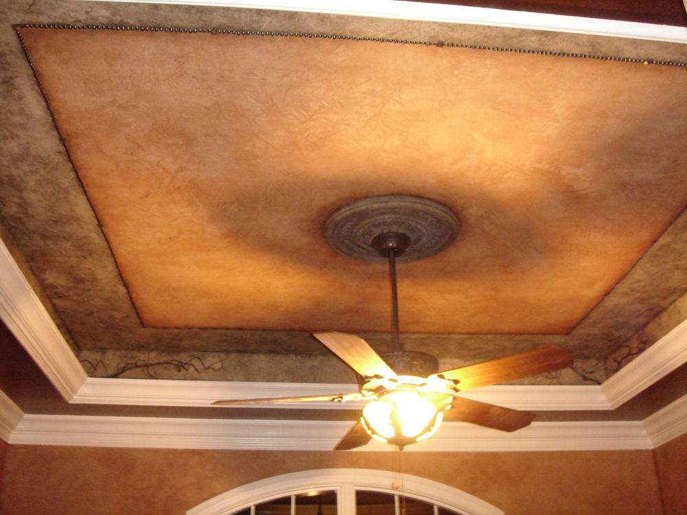 Faux Finish Ceiling By Bella Tucker