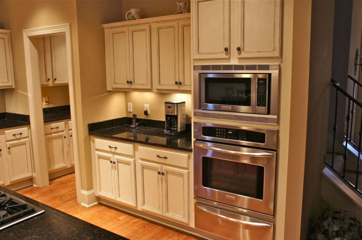 Painted Kitchen Cabinets Bella Tucker Decorative Finishes