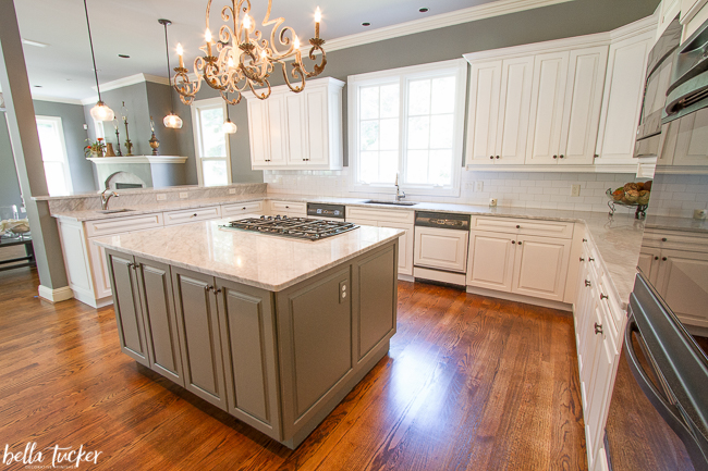 Sherwin Williams Alabaster Cabinets