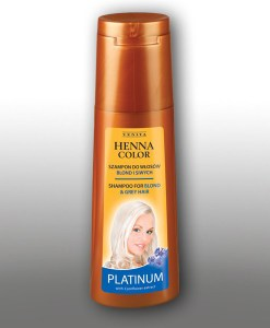 COLOUR PROTECTING & REVIVING SHAMPOO HENNA COLOR ! Henna Color PLATINUM (250 ml)