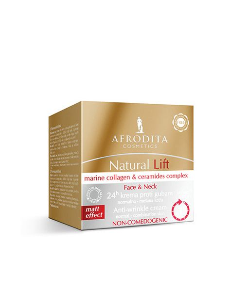 Afrodita Natural Lift 24h