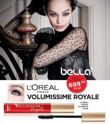 Maskara L'Oréal Paris Volumissime Royale
