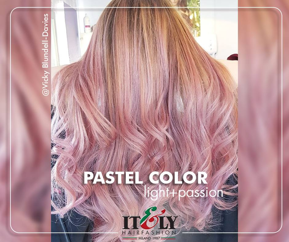 Pastelna Pink frizura