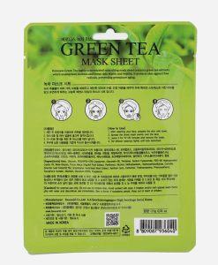 zeleni caj maska za lice Baroness