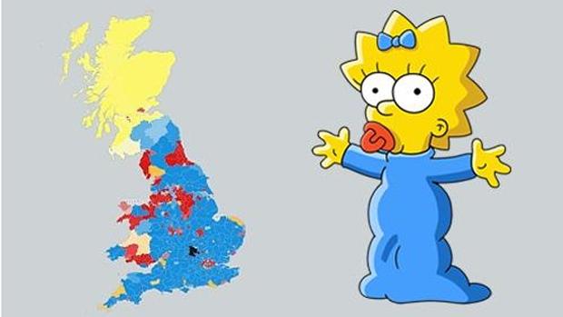 simpsons-uk-map-maggie