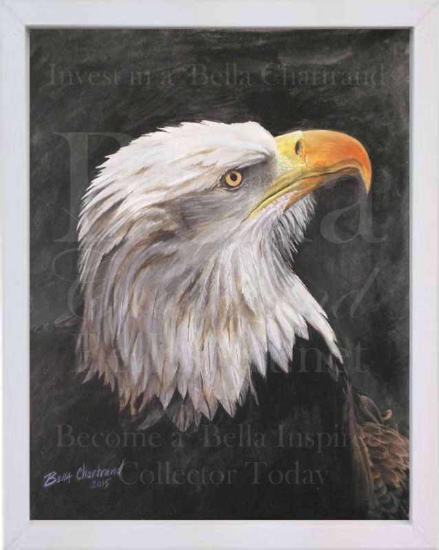 wounded_warrior-Watercolor Painting by Bella Chartrand from Survival Reality TV Show Utopia