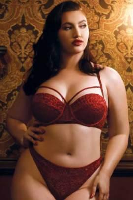 Plus size push up bra - 2x and 3x - bella curves lingerie