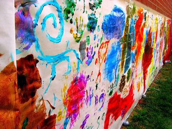 Preschool Mural Things To Make And Do Crafts And