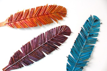 Spaghetti Box Feathers Things To Make And Do Crafts And