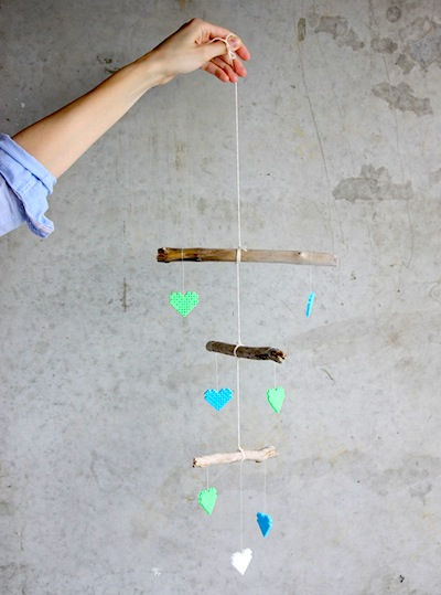Melty Bead Baby Mobile Things To Make And Do Crafts And