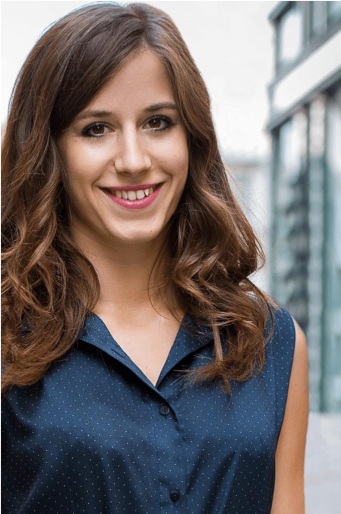 Kis Brigitta, a Pre Fashion Program vezetője
