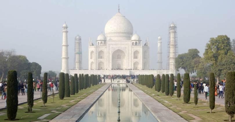 Taj Mahal Indiában