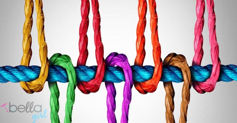 színes kötelek