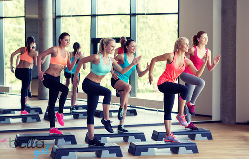 fitness, aerobik